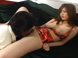 Striking young maiden with big tits is getting fucked hard from the back in the middle of the day