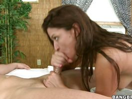 Sexual darling Ann Marie Rios just needed a fine fuck as soon as it was possible to happen