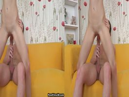 Luscious babe Liona Levi invited stud to her place because she wanted him back anew