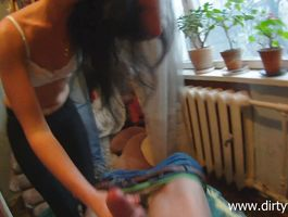 Sassy Margareth got fucked very hard by rich bf for a lot of specie