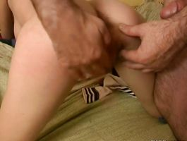 Naughty nympho Alisa got nailed like never previous to and liked it