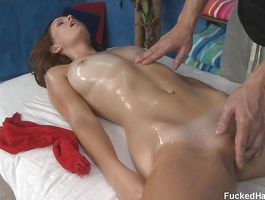 Racy minx Hayden Winters with firm milk shakes and buddy have wild fuck session