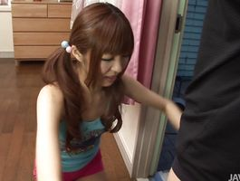 Mouthwatering darling Kotone Aisaki is in need of twat pounding