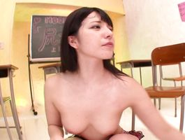 Sassy Ai Uehara bows over to get her needy snatch fingered