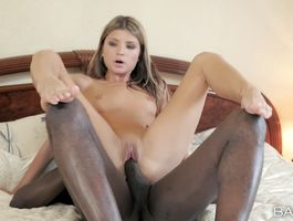Dissolute blond sweetie Gina Gerson assumes the position where she gets plowed hard