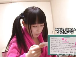 Sweet Machiko Ono is always willing to get down and obscene with stranger until they all cum