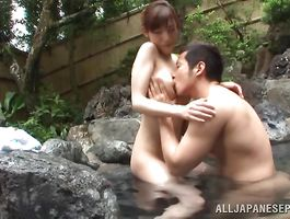Lusty Kanako Iioka got down and indecent with her pal and enjoyed it more than she expected