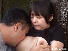 Engaging darling Tsubomi took off her raiment and got fucked hard by boyfriend