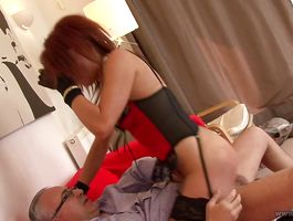 Passionate gal Roxy Foxx loves to be nailed most of all in life