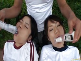 Glorious girlfriend Chiwa Osaki is being one of the superlatively good sex slaves to lover she likes a lot