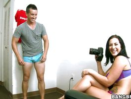 Handsome Jayden Jaymes receives an intensive pussy eating and plowing