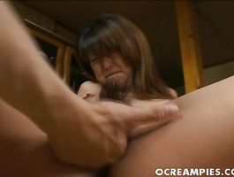 One lucky boy gets to be ridden by a lusty woman Asakawa Rei with large tits
