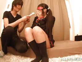 Naughty teen Kurumi Tanigawa got gangbanged from the back