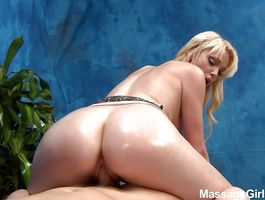 Beautiful darling Zoey Paige bows over to take it doggy style