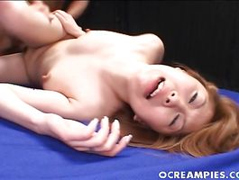 Aroused bombshell Makoto Amano and a pussy tester are often having casual sex until they one as well as the other get exhausted