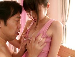 Cute big breasted Aika Yumeno's soaking wet nana is getting fucked the way she likes