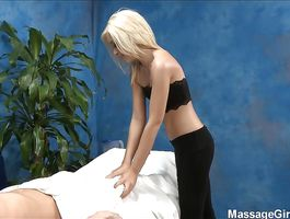 Admirable blond Kaylee Hays is fucking a married boy who hired her for fun