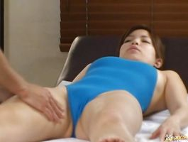 Lusty kitty with big tits is horny and she receives a huge penis