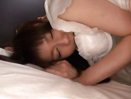 Sultry bosomed woman Yurika Miyaji gets picked up by a man and doggy styled