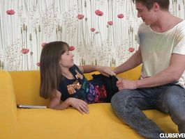 Mesmerizing gf Yulia A got screwed by boyfrend and enjoyed it a lot