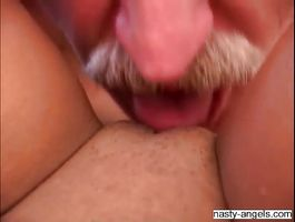 Vigorous Angela wants a huge weenie in her juicy cum bucket