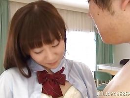 Magical Yuri Shinomiya got her ideal twat filled up with a hard tool until she started groaning