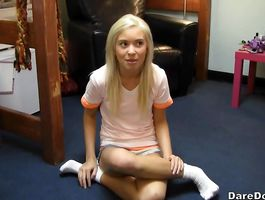 Prurient teen minx needs a good fuck as soon as it is possible