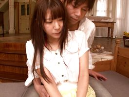 Beguiling big boobed bombshell Haruna Aisaka is getting fucked the way she always wanted