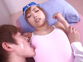 Astonishing maiden Yuu Namiki and her chap male have a wild fuck session