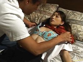 Kinky youngster loves to jump on stiff rods