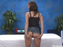 Curvaceous Lily Carter is on her knees and she's lewd