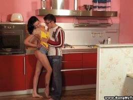 Breathtaking Misha and her experienced fellow have a fun the sexy afternoon