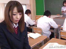 Mesmerizing floosy Ayu Sakurai got spanked 'cuz that babe was very bad
