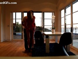 Ambitious minx Mia is exceedingly horny and receives a huge stick