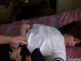 Gorgeous miss Nanami Kawakami is getting fucked by dude like never previous to