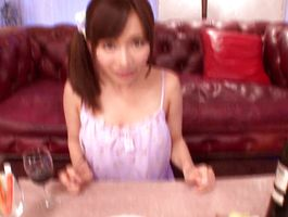 Mouthwatering teen maiden Minami Kojima can't live without to ride her wet crack tester's fuck stick