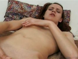 Curvaceous juvenile girlfriend Petra gets carried away with mate's shaft