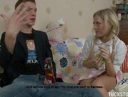 Nasty woman Kelsie receives a large shlong in her pussy