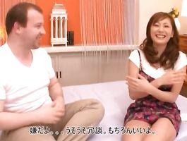 Seductive big boobed Yuma Asami she started moaning from pleasure