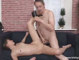 Marvelous Sofie Carter enjoys riding a large and hard weenie
