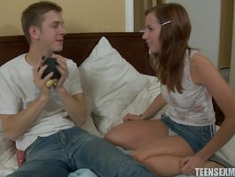 Mouthwatering sweetie Zuzanna gets pounded by a male