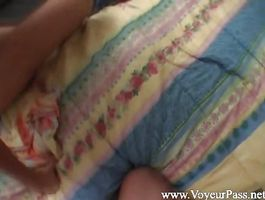 Divine blond young cutie Sue and handsome buddy bang like eager