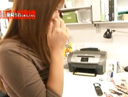 Tempting girlfriend Rio Fujisaki got stuffed with a meaty dangler