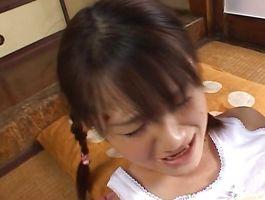 Worthy girl Risa Hano is in need of pounding