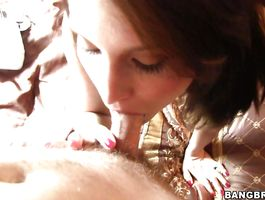 Boyfriend and a insatiable girlfriend are having sex and enjoying it a lot