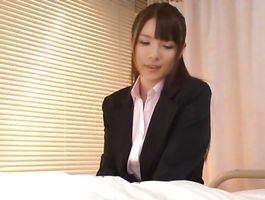 Foxy 1st timer Rui Saotome loves to get fucked hard from the back as well as to ride donga