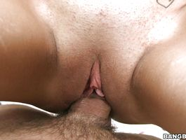 Kinky latin sweetheart Jasmine samples a hard dinky with her aphrodisiac mouth