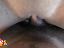 Prodigious ebony honey and a male she met the other day had sex