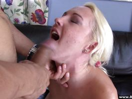 Appealing blond gf Alice receives a thorough muff diving and deep plowing