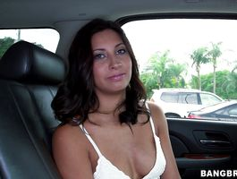 Appetizing brown-haired Jade Jantzen is desperate to get her dripping wet twat filled up with a rock hard sausage